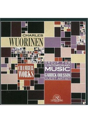 Charles Wuorinen - Chamber Works (Group For Contempary Music)