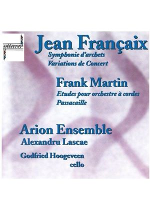 JEAN FRANCAIX - Chamber Works (Arion Ensemble, Lascae, Hoogeveen)