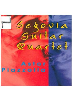 Astor Piazzolla - Guitar Music (Segovia Guitar Quartet)