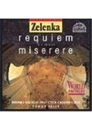 Zelenka: Requiem in D; Miserere in C