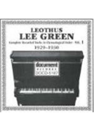 Lee Green - Lee Green Vol.1 - 1929-1930