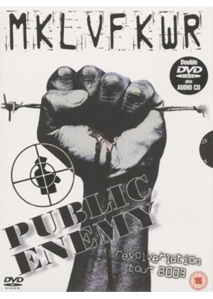 Public Enemy - The Revolverlution Tour 2003 (+CD)(3 Disc)