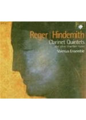 Hindemith And Reger - Clarinet Quintets And Other Chamber Work