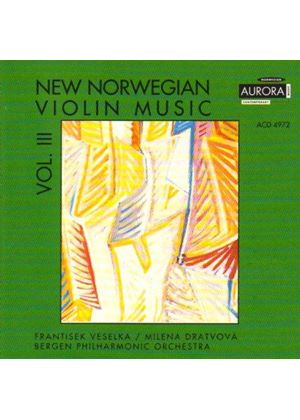 New Norwegian Violin Music, Vol.3