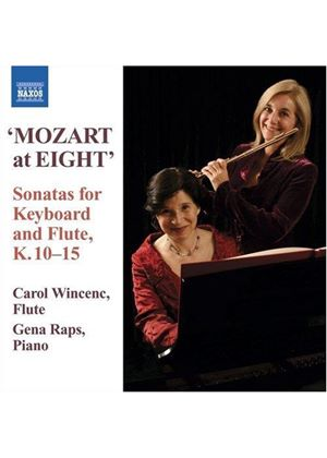 Wolfgang Amadeus Mozart - Keyboard And Flute Sonatas (Wincenc, Raps)
