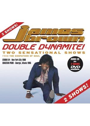 James Brown - DOUBLE DYNAMITE (CD+DVD)
