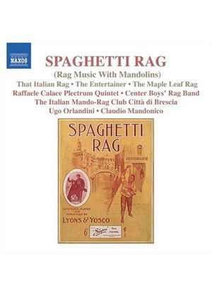 VARIOUS COMPOSERS - Rag Music With Mandolins (Mandonico, Quintet A Plettro)