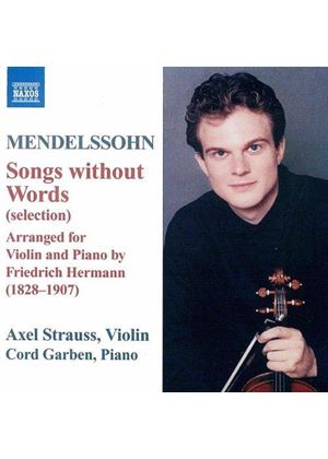 Felix Mendelssohn - Songs Without Words Arranged For Violin And Piano (Garben)