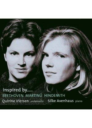 Beethoven; Hindemith; Martinu: Variations for Cello and Piano