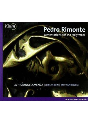 Rimonte: Lamentations for Holy Week