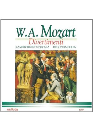 Mozart - CHAMBER ORCHESTRA SINFONIA
