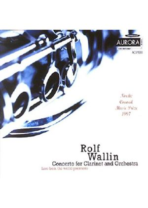 Rolf Wallin - Concerto For Clarinet