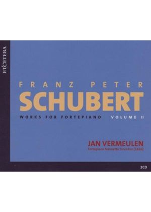 Schubert: Works for Piano, Vol 2