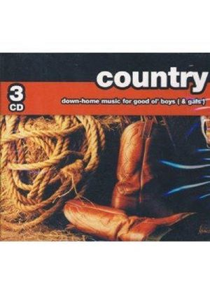 Various Artists - COUNTRY-DOWN HOME MUSIC 3CD