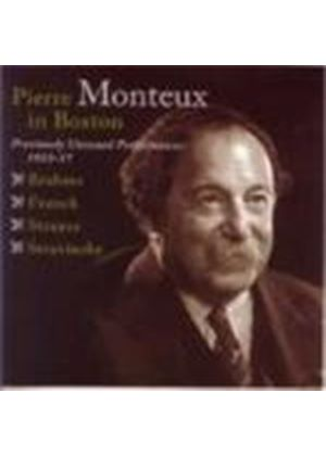 Pierre Monteux in Boston