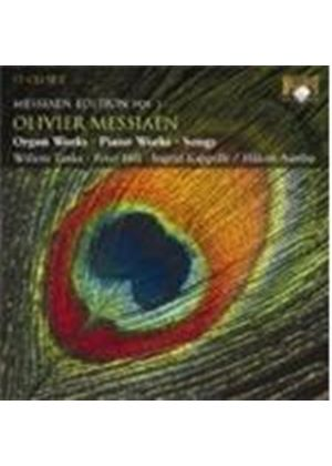 OLIVIER MESSIAEN - Messiaen Edition Vol. 1: Piano And Organ Works, Songs [17CD]