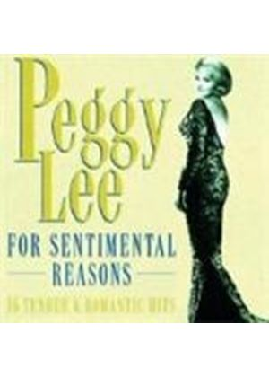 Peggy Lee - For Sentimental Reasons