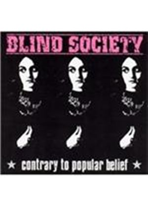 Blind Society - Contrary to Popular Belief (Music CD)