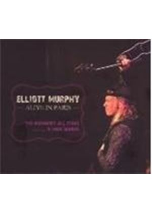 Elliott Murphy - Alive In Paris (Music CD)