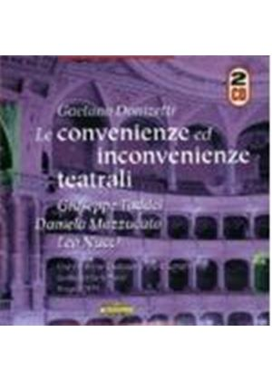 Donizetti - LE CONVENIENZE ED INCONVENIENZE 2CD