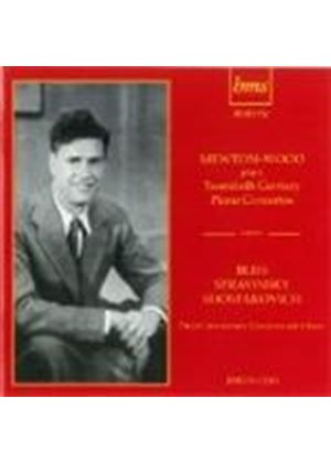 Mewton-Wood plays 20th Century Piano Concertos (Music CD)