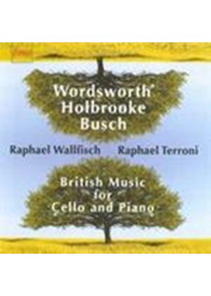 Busch; Holbrooke; Wordsworth: Cello Works (Music CD)