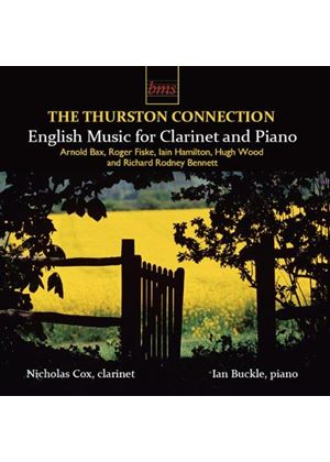 Thurston Connection: English Music for Clarinet and Piano (Music CD)