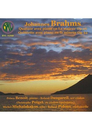 Brahms: Piano Quartet and Piano Quintet