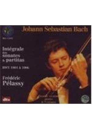 Johann Sebastian Bach - Integrale Des Sonatas And Partitas (Pelassy) (Music CD)