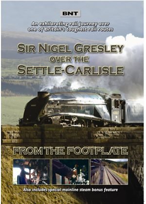 Sir Nigel Gresley Over The Settle And Carlisle - From The Footplate