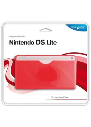 Blue Ocean Accessories - Red Protective Case for DS Lite (DS)