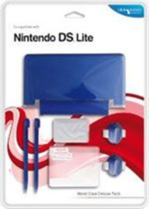 Blue Ocean Accessories - Blue Metal Case Deluxe Pack for DS Lite (DS)