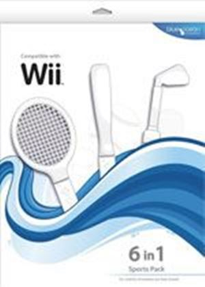 Blue Ocean Accessories 6-in-1 Sports Pack (White) (Wii)