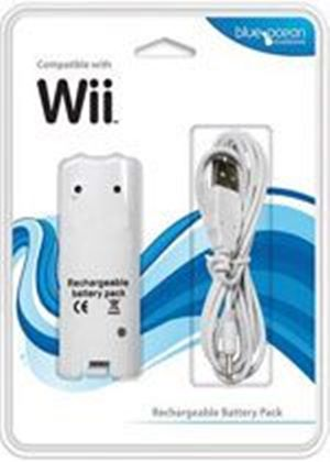 Blue Ocean Wii Recharge Battery Pack