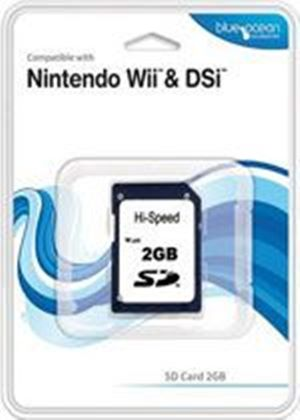 Blue Ocean SD Card 2GB for Wii and DSi