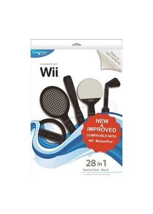 Blue Ocean Accessories 28-in-1 Sports Pack (Black) (Wii)