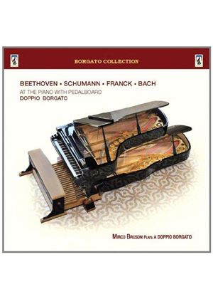 Beethoven, Schumann, Franck, Bach at the Piano with Pedalboard (Music CD)