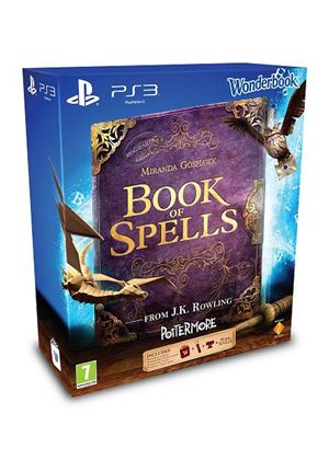 Wonderbook: Book Of Spells + PlayStation Eye Camera + Move Controller (PS3)
