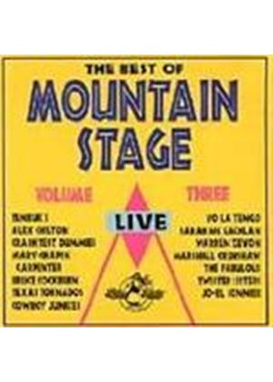 Various Artists - The Best Of Mountain Stage Vol. 3