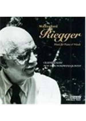 WALLINGFORD RIEGGER - MUSIC FOR PIANO AND WOODWINDS