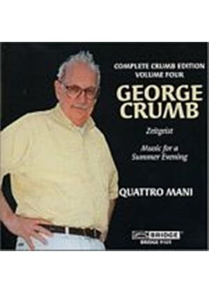 George Crumb - Complete Crumb Edition Volume 4 (Quattro Mani) (Music CD)