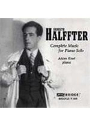 halffter: Complete Music For Solo Piano