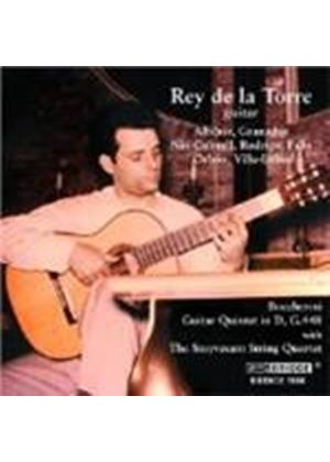 Rey de la Torre and the Stuyvesant String Quartet