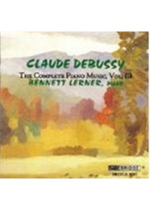 Claude Debussy - The Complete Piano Music Vol. 3 (Lerner)