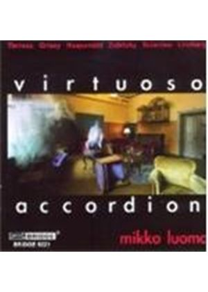 VARIOUS COMPOSERS - Virtuoso Accordion (Luoma)