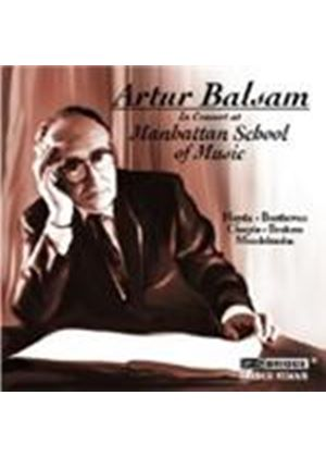 VARIOUS COMPOSERS - In Concert At The Manhattan School Of Music (Baslam)