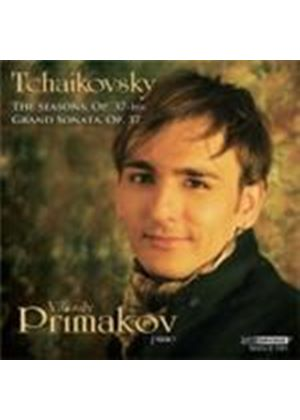 Tchaikovsky: (The) Seasons; Grand Sonata in G Major (Music CD)