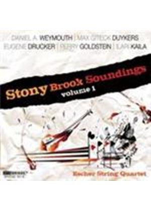 Escher String Quartet - Stony Brook Soundings Vol.1 (Music CD)