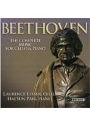 Beethoven: Cello and Piano Works (Music CD)