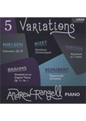 Five Variations (Music CD)